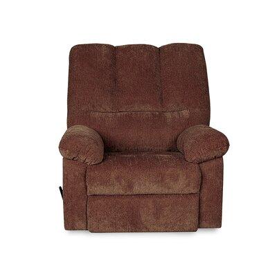 Juhi Handle/Lever Rocker Recliner Upholstery: Wine