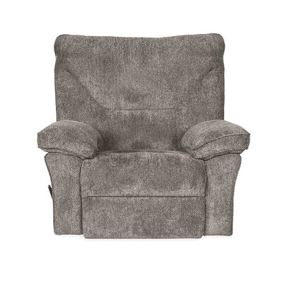 Reshmi Handle/Lever Rocker Recliner Upholstery: Tobacco