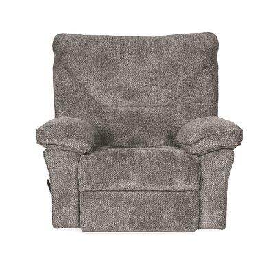 Reshmi Handle/Lever Rocker Recliner Upholstery: Tobacco