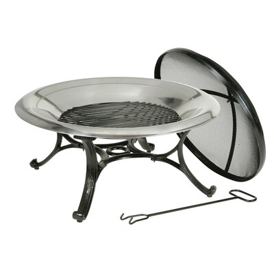 Cast Iron Wood Burning Fire Pit 30139