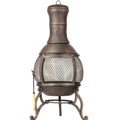 Corona Cast iron Wood Burning Chiminea 30075
