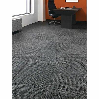 Mt Desert 24 x 24 Carpet Tile in Writer