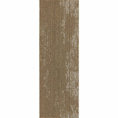 Webster 12 x 36 Carpet Tile in Rugged Range Metalli