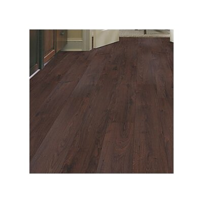 Cabrini 8 x 47 x 7.14mm Oak Laminate Flooring in Chocolate