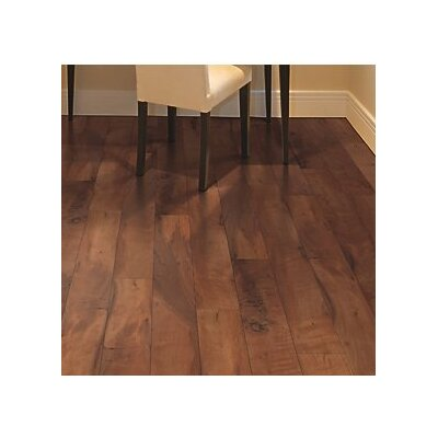 Hanbridge 5.25 x 47.25 x 11.93mm Walnut Laminate Flooring in Brown