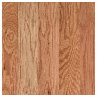 Randleton 3-1/4 Solid Oak Hardwood Flooring in Red Natural