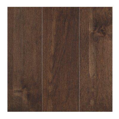 Solandra 5 Solid Maple Hardwood Flooring in Whiskey