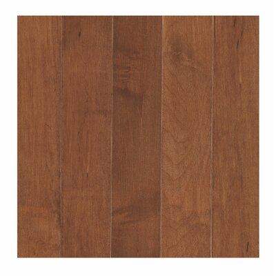 Madison Row 3-1/4 Solid Oak Maple Hardwood Flooring in Amaretto