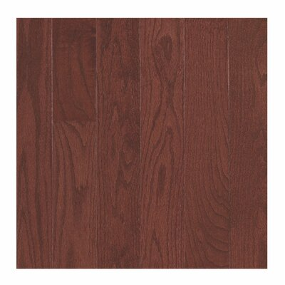 Randhurst SWF 3-1/4 Solid Oak Hardwood Flooring in Red Cherry