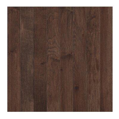 Randhurst Map SWF 2-1/4 Solid Oak Maple Hardwood Flooring in Coffee
