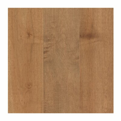 Travatta 5 Solid Oak Maple Hardwood Flooring in Sandlewood