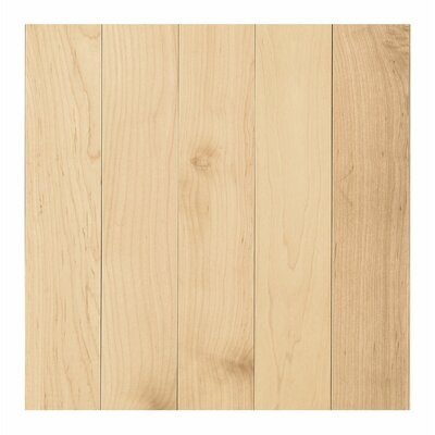 Randhurst Map SWF 3-1/4 Solid Oak Maple Hardwood Flooring in Pure Natural
