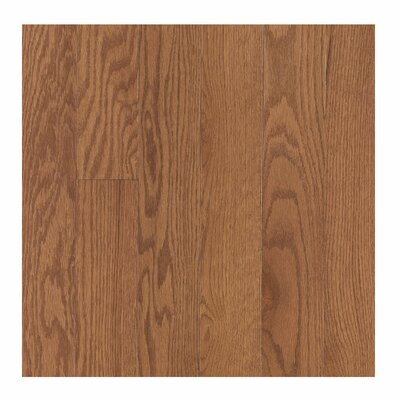 Randhurst SWF 2-1/4 Solid Oak Hardwood Flooring in Saddle