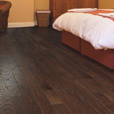 American Loft Random Width Engineered Oak Hardwood Flooring in Chocolate
