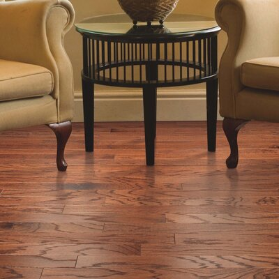 American Loft Random Width Engineered Oak Hardwood Flooring in Gunstock