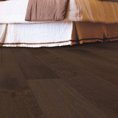 Arbordale Random Width Engineered Oak Hardwood Flooring in Riverbend