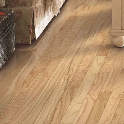 Greighley Random Width Engineered Oak Hardwood Flooring in Red Natural