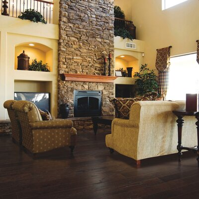 American Loft Oak Hardwood Flooring in Brandy
