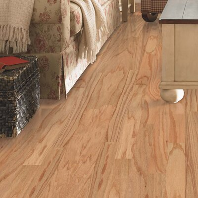 Palacio Random Width Engineered Oak Hardwood Flooring in Red Natural