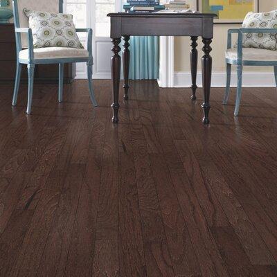 Greighley Random Width Engineered Oak Hardwood Flooring in Brandy