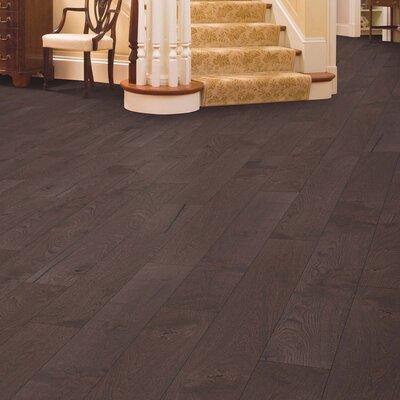 Arbordale Random Width Engineered Oak Hardwood Flooring in Cobblestone
