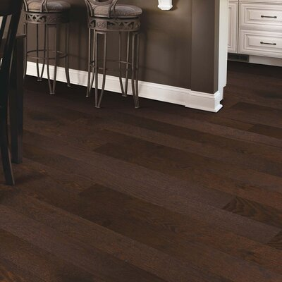 Arbordale Random Width Engineered Oak Hardwood Flooring in Cappuccino