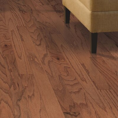 Randhurst Random Width Engineered Oak Hardwood Flooring in Gunstock