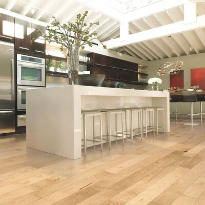 Randhurst Maple 5 Engineered Maple Hardwood Flooring in Pure Maple Natural
