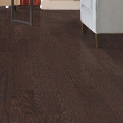Palacio Random Width Engineered Oak Hardwood Flooring in Chocolate