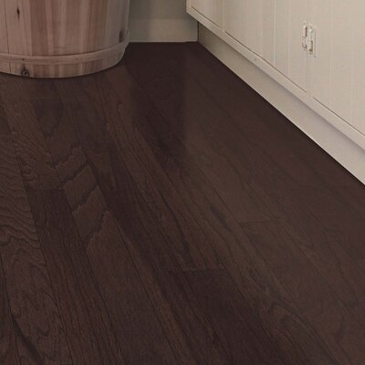 Randhurst Random Width Engineered Oak Hardwood Flooring in Chocolate