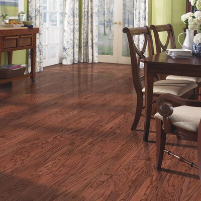 Oakbrooke Random Width Engineered Oak Hardwood Flooring in Autumn