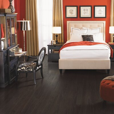 American Loft Random Width Engineered Oak Hardwood Flooring in Stonewash