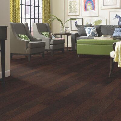 Randhurst 5 Engineered Hickory Hardwood Flooring in Gunpowder