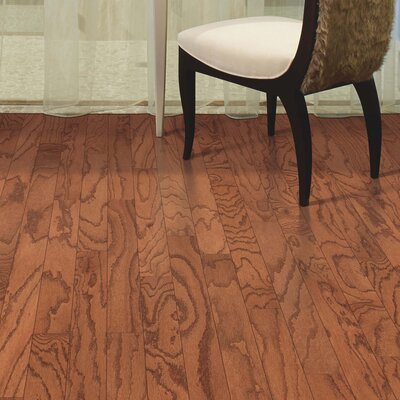 Greighley Random Width Engineered Oak Hardwood Flooring in Autumn