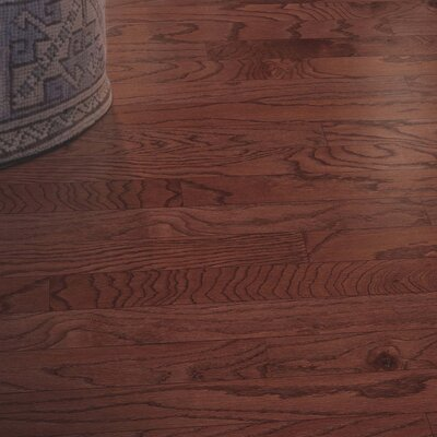 Randhurst Random Width Engineered Oak Hardwood Flooring in Cherry