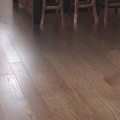 Alina Random Width Engineered Oak Hardwood Flooring in Portabella