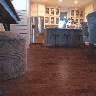 Randhurst Random Width Engineered Oak Hardwood Flooring in Cherry