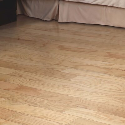 Randhurst Random Width Engineered Oak Hardwood Flooring in Red Natural