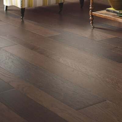 Alina Random Width Engineered Oak Hardwood Flooring in Spiced