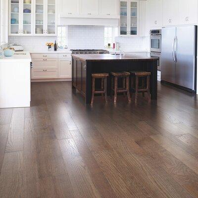 Sandridge Random Width Engineered Oak Hardwood Flooring in Portabella