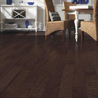 Randhurst 5 Engineered Oak Hardwood Flooring in Chocolate