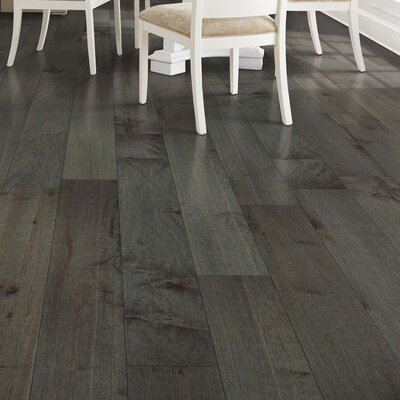 North Coast Random Width Engineered Maple Hardwood Flooring in Castlerock