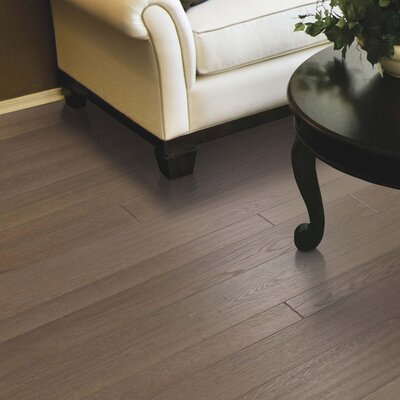 Penbridge Random Width  Engineered Oak Hardwood Flooring in Graphite
