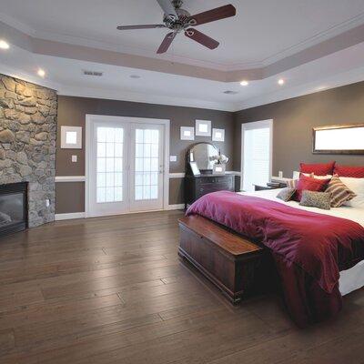 Kearny Random Width Maple Hardwood Flooring in Granite