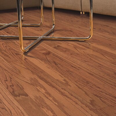 Randhurst Random Width Engineered Oak Hardwood Flooring in Butterscotch
