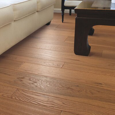 Alice Random Width  Engineered Oak Hardwood Flooring in Tawny Natural