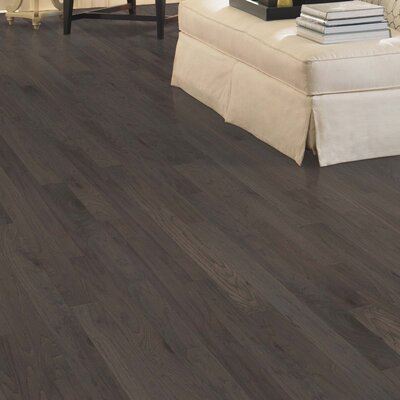 Taylors Random Width Engineered Oak Hardwood Flooring in Shale