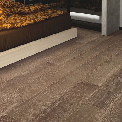 Clarkston Random Width Engineered Oak Hardwood Flooring in Chateau