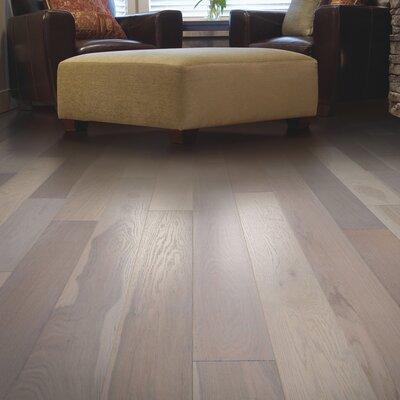 North Coast Random Width Engineered Oak Hardwood Flooring in Hearthstone