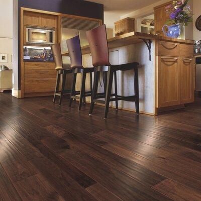 Kearny Random Width Hardwood Flooring in Natural Walnut